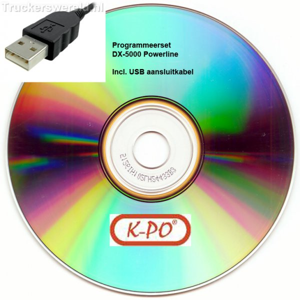 K-PO DX-5000 Powerline Programmeer set