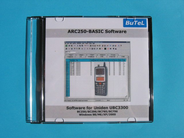 Butel scanner software UBC-3300XLT Basic