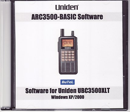Butel scanner software UBC-3500XLT Basic
