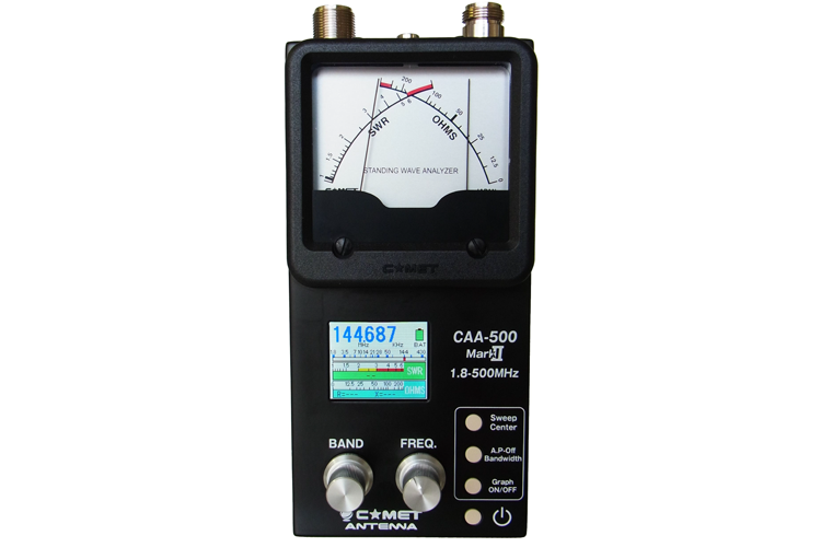 Comet CAA-500 Antenna Analyzer
